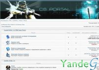 Cайт - Counter-Strike 1.6 Game Portal (crazzzy.teamforum.ru)