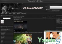 Cайт - Counter-strice 1.6 (cs-ban.ucoz.net)